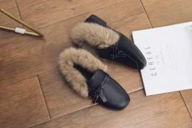 加绒毛毛鞋