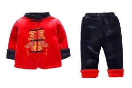 儿童拜年服套装