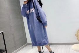 长款卫衣裙